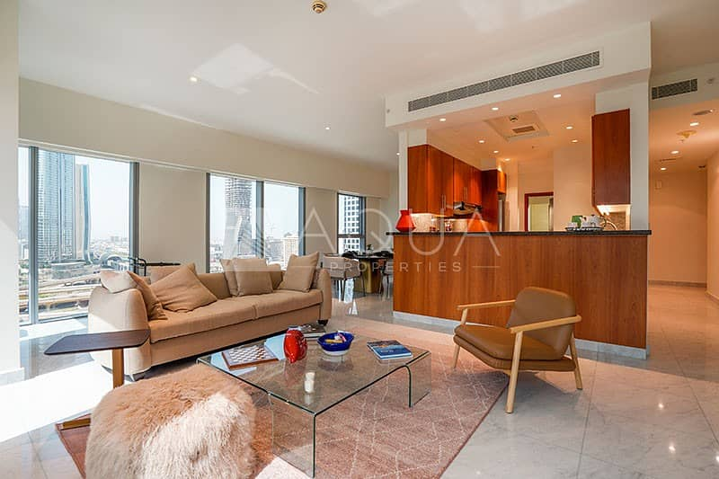 Fully Furnished   Corner Unit   City View