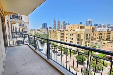 فلیٹ 1 غرفة نوم للايجار في ذا فيوز، دبي - Best Layout | Large Balcony | A/C Free