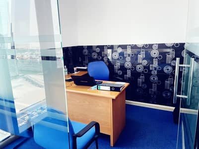 Office for Rent in Business Bay, Dubai - Luxury Furnished | 2 Car Park | SZR View  | Good Price