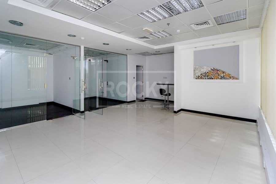 Close to Metro   Fitted Furnished   Partitioned   Barsha Heights