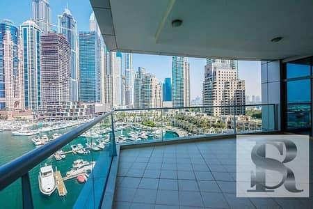 3 Bedroom Apartment for Sale in Dubai Marina, Dubai - Best 02  type Full  Marina     3 BR + Maids + Study