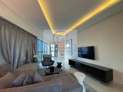 شقة 2 غرفة نوم للايجار في الخليج التجاري، دبي - Luxury 2 BHK fully furnished for rent in DAMAC PARAMOUNT tower A