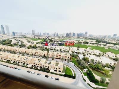 فلیٹ 3 غرف نوم للايجار في مدينة دبي الرياضية، دبي - CORNER UNIT | GOLF VIEW | SPACIOUS 3 BEDROOM  WITH 2 PARKING