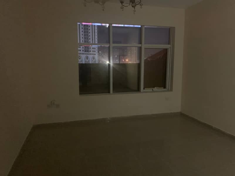 Big Size Studio is available for rent with Balcony and car parking in just 16000 in Horizon tower Ajman.