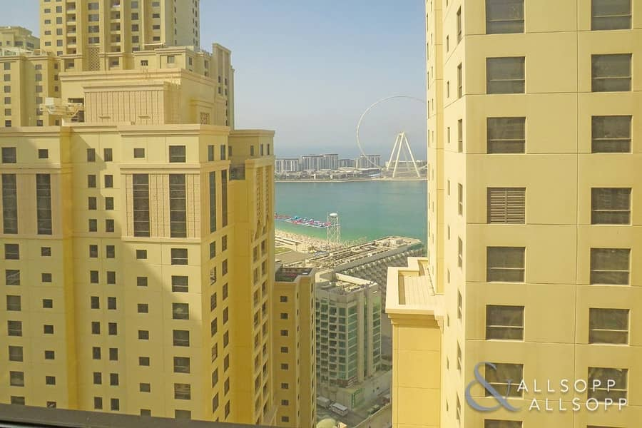2 One Bed | Unfurnished | Full Marina View
