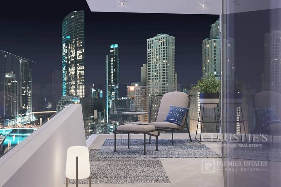 36 2 Bedroom plus Maid's Room with Marina Sea View