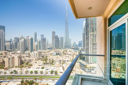 2 Bedroom Apartment for Rent in Downtown Dubai, Dubai - Bright 2 Bedroom Apartment with spectacular views