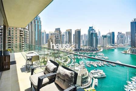 2 Bedroom Flat for Sale in Dubai Marina, Dubai - Full Marina Views   Rented   Type 2A