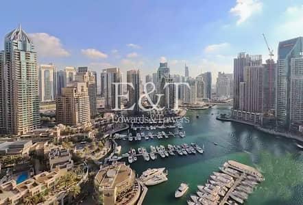 3 Bedroom Apartment for Sale in Dubai Marina, Dubai - Full Marina View   Tenanted   High ROI