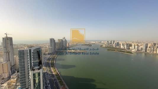 بنتهاوس 4 غرف نوم للبيع في المجاز، الشارقة - Spacious Duplex 4 BHK l Buhaira View l Bu Khamseen Tower