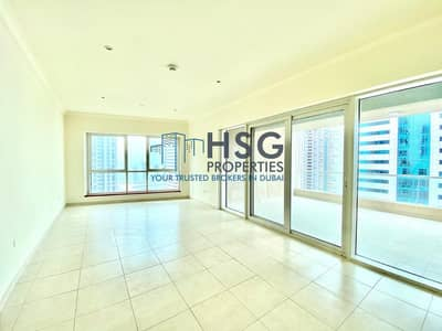 3 Bedroom Flat for Rent in Dubai Marina, Dubai - CHILLER