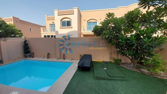 5 Bedroom Villa for Rent in Al Reef, Abu Dhabi - Double Row | Landscape Garden With Pool | Vacant