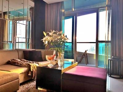 شقة 1 غرفة نوم للبيع في وسط مدينة دبي، دبي - Stunning Unit In High Floor With Downtown View