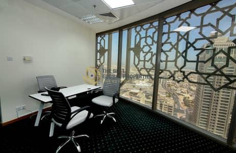 مکتب  للايجار في شارع الشيخ زايد، دبي - Fully Furnished Offices | Brand New | Easy Metro Access