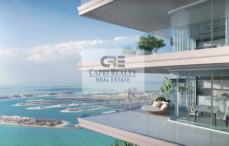 1 Bedroom Apartment for Sale in Dubai Harbour, Dubai - 1st Palace Residence on Beach| Sea View| 6.5 years payment plan