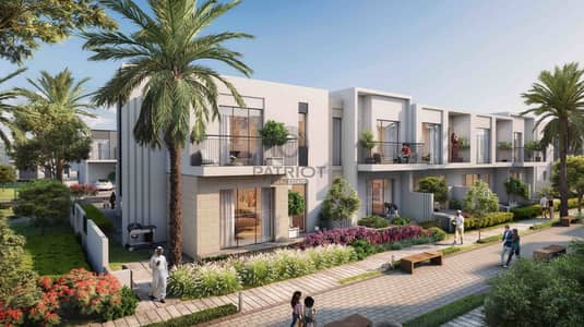 3 Bedroom Townhouse for Sale in Dubai South, Dubai - Best Deal | Just pay 450K | No brainer | Expo Villa