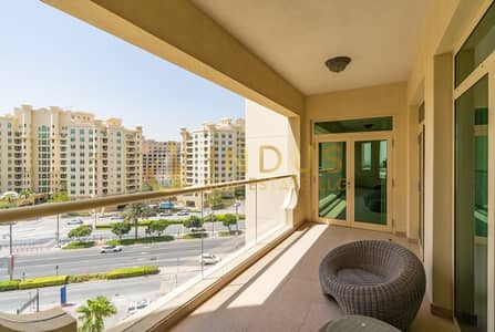 2 Bedroom Flat for Rent in Palm Jumeirah, Dubai - Fully Furnished | City View | Chiller Free | Beach access