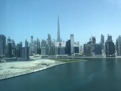 Office for Rent in Business Bay, Dubai - Burj View   Furnished + Partitioned   2 Parkings   Great Layout