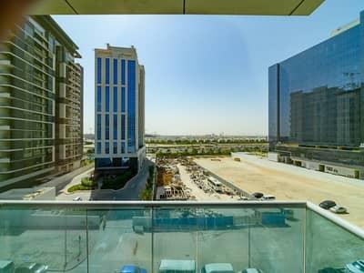 Studio for Rent in Business Bay, Dubai - Spacious Burj and Pool facing Studio