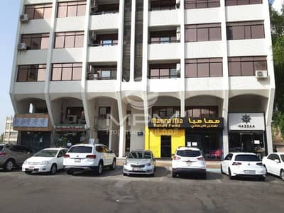 2 Bedroom Flat for Rent in Airport Street, Abu Dhabi - Window A/C | near immigration office | 4 Chqs