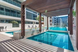Largest 1BR with Terrace Facing the Swimming Pool