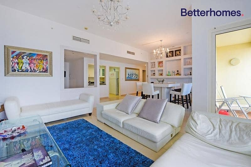 2 Partial Sea View|Lower Floor|Rented|Unfurnished