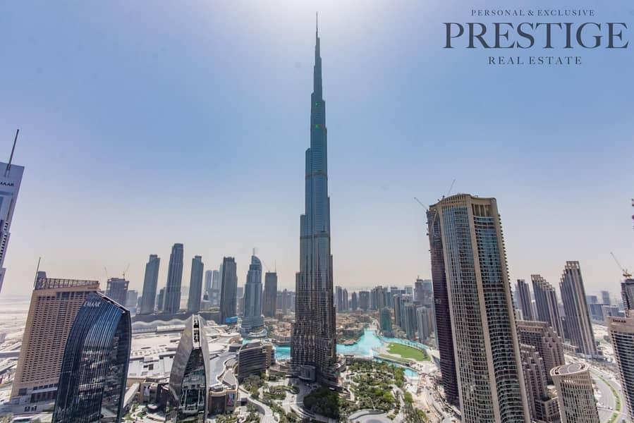 Fully Furnished   5 Bedroom   Burj Khalifa View   Trophy Property