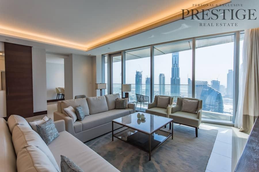 2 Fully Furnished   5 Bedroom   Burj Khalifa View   Trophy Property