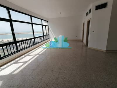 4 Bedroom Apartment for Rent in Corniche Road, Abu Dhabi - ASTOUNDING 4BHK| 2 Masters|Maid-room|4 Payments!