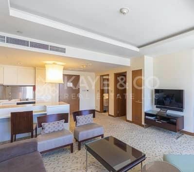 شقة 1 غرفة نوم للايجار في وسط مدينة دبي، دبي - Well-Maintained   Fully Furnished   With Balcony