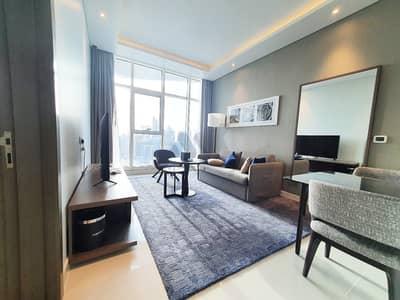 فلیٹ 1 غرفة نوم للايجار في الخليج التجاري، دبي - شقة في داماك ميزون بريفيه الخليج التجاري 1 غرف 70000 درهم - 5107697