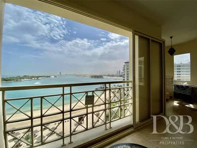2 Bedroom Flat for Rent in Palm Jumeirah, Dubai - F Type Layout | Exclusive | Full Sea View