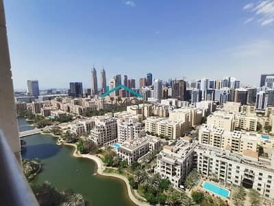 1 Bedroom Flat for Rent in The Views, Dubai - 1BR Fairways North Tower Lake Views - Vacant