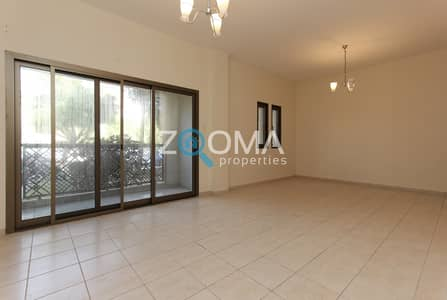 2 Bedroom Flat for Rent in The Gardens, Dubai - 13 Months Free |Maintenance Free|Balcony