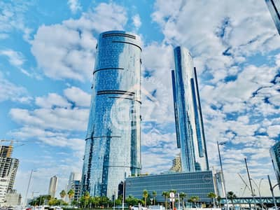Office for Rent in Al Reem Island, Abu Dhabi - SPACIOUS AND WELL MAINTAINED COMMERCIAL UNIT WITH SEA VIEW!