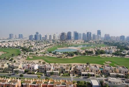 شقة 3 غرف نوم للايجار في مدينة دبي الرياضية، دبي - BREATHTAKING GOLF AND POOL VIEW | FULLY FURNISHED 3 BEDROOM | HIGHER FLOOR