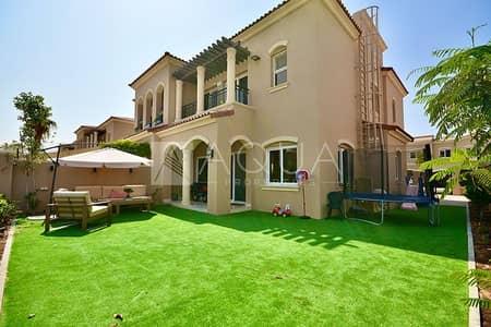 تاون هاوس 3 غرف نوم للبيع في سيرينا، دبي - Type A I Single Row I 100m to Pool I Huge Plot