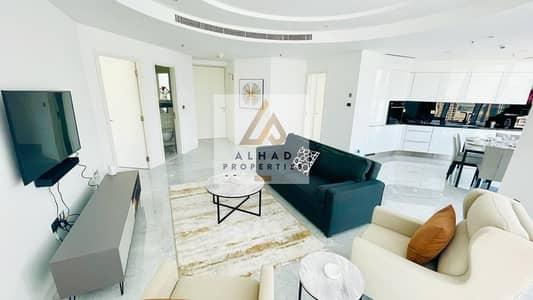 فلیٹ 2 غرفة نوم للايجار في الخليج التجاري، دبي - Fully Furnished | Brand New | Luxury| Burj Khalifa View
