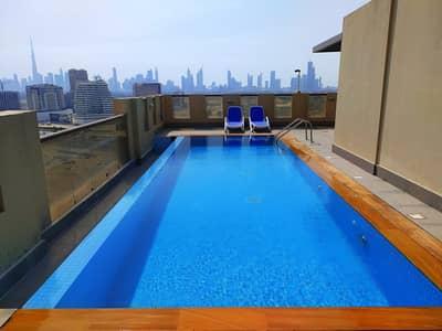 استوديو  للايجار في بر دبي، دبي - فسيحة 1 B / R 30 يومًا مجانًا   منظر ساحر مع مساحة واسعة قال 33 ألف فقط في الجداف