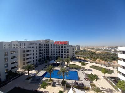 فلیٹ 3 غرف نوم للايجار في تاون سكوير، دبي - POOL FACING ! WITH TWO COVERED PARKING ! 3BHK + MAID ROOM  ! ZAHRA APARTMENTS
