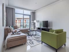 Ready & fully furnished luxury apartment