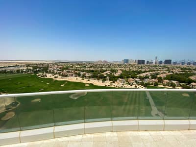 1 Bedroom Apartment for Rent in Dubai Sports City, Dubai - Full Golf Course View - 1Bedroom - Large Balcony