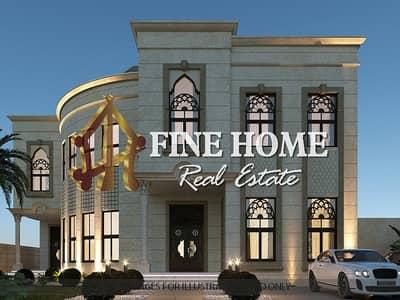 فيلا مجمع سكني 10 غرف نوم للبيع في المشرف، أبوظبي - 3 Villas Compound | 20 MBR | External Extension