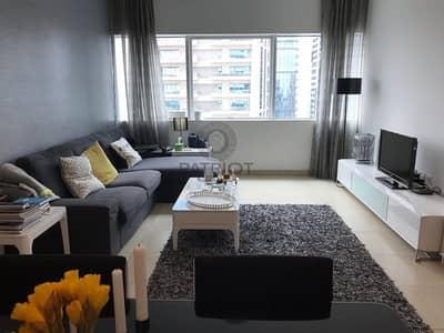 شقة 1 غرفة نوم للايجار في دبي مارينا، دبي - Furnished | Higher Floor | Partial Marina View