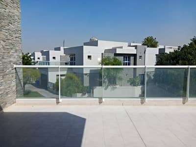 3 Bedroom Villa for Rent in Dubai Silicon Oasis, Dubai - LUXURY SINGLE ROW MAINTENANCE FREE 3BR+MAID CEDRE VILLA