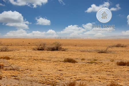 ارض تجارية  للبيع في مدينة شخبوط (مدينة خليفة ب)، أبوظبي - For Sale Commercial Land   Located on 2 Streets
