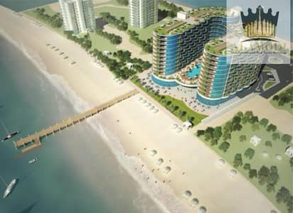 2 Bedroom Apartment for Sale in Al Marjan Island, Ras Al Khaimah - Invest and Own a Resort Suite in Al Marjan Island, Directly on the Sea (Fully sea view) .