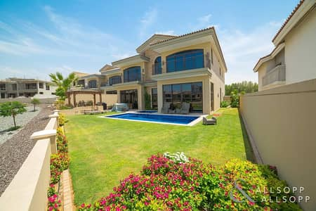 فیلا 5 غرف نوم للبيع في عقارات جميرا للجولف، دبي - Exclusive - A Type - Lake View - Cul de Sac