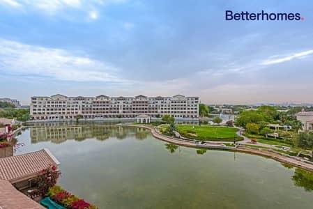 فلیٹ 3 غرف نوم للايجار في موتور سيتي، دبي - Exclusive | Upgraded | Lavish Lake View | Call Now