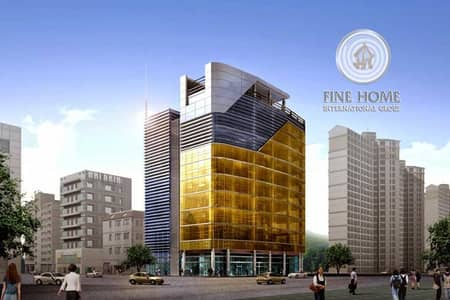 Building for Sale in Tourist Club Area (TCA), Abu Dhabi - Commercial Building | 10 Floors | 4 Shops